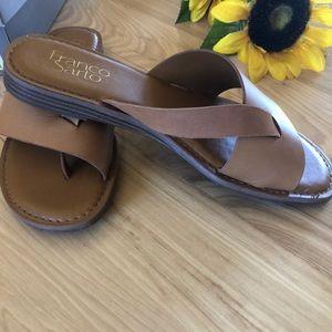 faee16aae Franco Sarto Shoes - Franco Sarto Gene Havana LE Slide Sandal